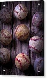Baseball Memories Acrylic Print by Garry Gay