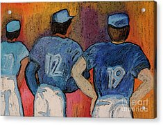 Baseball Team By Jrr  Acrylic Print by First Star Art
