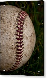Baseball - The National Pastime Acrylic Print by David Patterson