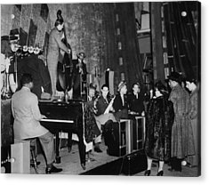 Basie Orchestra, C1941 Acrylic Print by Granger