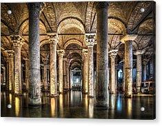 Basilica Cistern Istanbul Turkey Acrylic Print