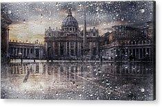 Basilica Di San Pietro Acrylic Print by Nicodemo Quaglia