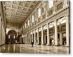 Basilica Di Santa Maria Maggiore Acrylic Print