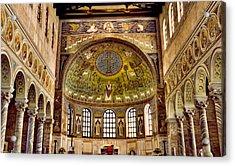 Basilica Di Sant'apollinare Nuovo - Ravenna Italy Acrylic Print by Jon Berghoff