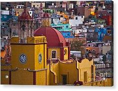Basilica Of Our Lady Of Guanajuato Mexico Acrylic Print