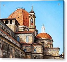 Basilica Of San Lorenzo Acrylic Print by David Waldo