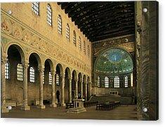 Basilica Of Santapollinare In Classe Acrylic Print