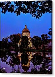 Basilica St. Josaphat Acrylic Print by Anna-Lee Cappaert