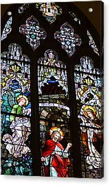 Basilica Stained Glass 2 Acrylic Print
