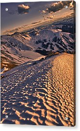 Basin From Above Acrylic Print by Mike Berenson