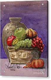 Basket Of Fruit Acrylic Print