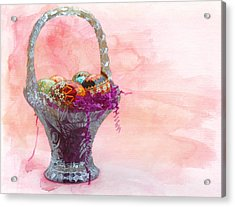 Basket Of Joy Acrylic Print