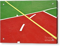 Basketball Court Acrylic Print