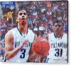 Basketball Game  Acrylic Print