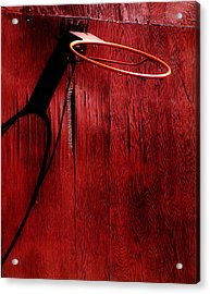 Basketball Hoop Acrylic Print by Lane Erickson