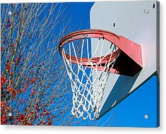 Basketball Net Acrylic Print