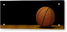 Basketball Panorama Acrylic Print by Andrew Soundarajan