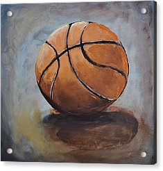 Basketball  Acrylic Print by Shannon Lee