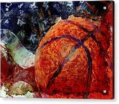Basketball Usa Acrylic Print