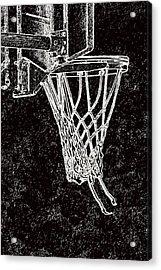 Basketball Years Acrylic Print by Karol Livote