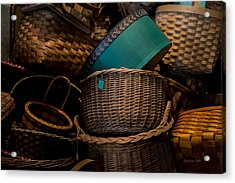 Baskets Galore Acrylic Print
