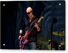 Bass  Guitar Acrylic Print by Tony Reddington