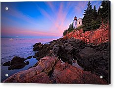 Bass Harbor Head Light Acrylic Print by Emmanuel Panagiotakis
