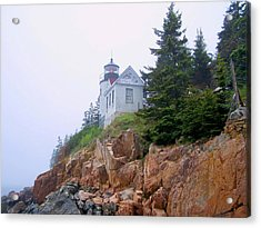 Bass Harbor Head Light Acrylic Print
