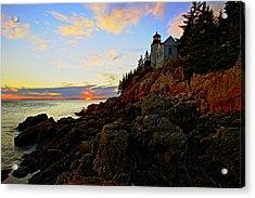 Bass Harbor Head Lite Acrylic Print