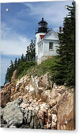 Bass Harbor Light Acrylic Print by Acadia Photography