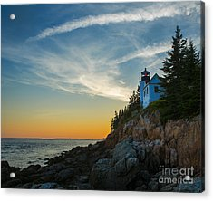 Bass Harbor Lighthouse Acrylic Print by Diane Diederich