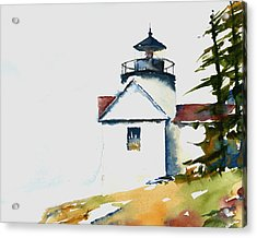 Bass Harbor Lighthouse Acrylic Print by William Beaupre