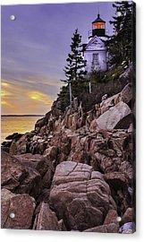 Bass Head Lighthouse Acrylic Print by Thomas Schoeller
