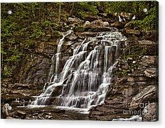 Acrylic Print featuring the photograph Bastion Falls - Catskills by Vicki DeVico