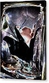 Bastrop Burning Broken Glass 1 Acrylic Print