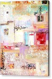 Batalla De Flores Acrylic Print
