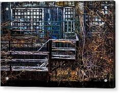 Bates Mill No 5 Acrylic Print