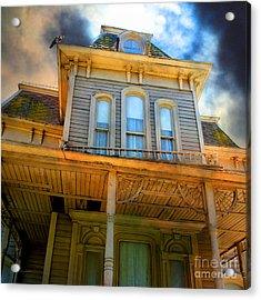 Bates Motel 5d28867 Square Acrylic Print by Wingsdomain Art and Photography