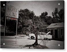 Bates Motel Acrylic Print by RicardMN Photography