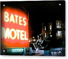 Bates Motel Vacancy Acrylic Print