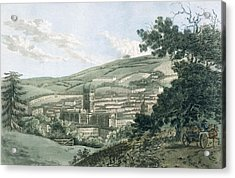 Bath Acrylic Print by Hassell and Ibbetson