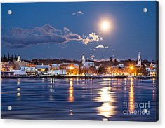 Bathed In Moonlight Acrylic Print