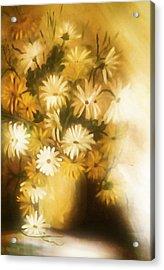 Bathed In White Light Acrylic Print by Georgiana Romanovna