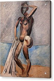 Bather Acrylic Print by Pablo Picasso