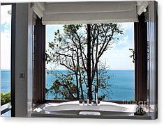 Bathroom With A View Acrylic Print