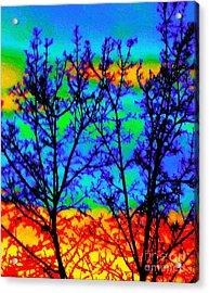 Batik By Design Acrylic Print by Ann Johndro-Collins