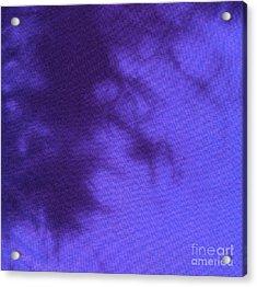 Batik In Purple Shades Acrylic Print by Kerstin Ivarsson
