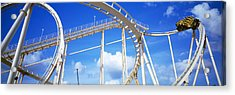 Batman The Escape Rollercoaster Acrylic Print by Panoramic Images