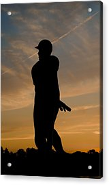 Batter At Dawn - Phillies Acrylic Print