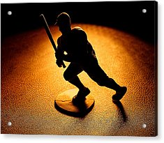 Batter Batter Acrylic Print by Camille Lopez